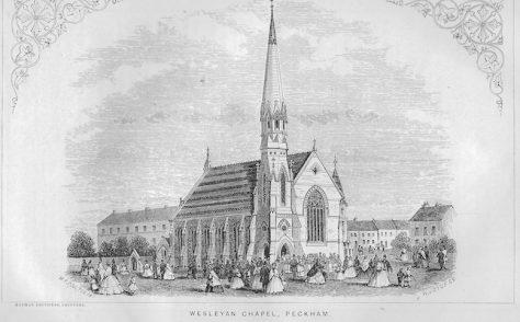 Peckham, Queens Road Wesleyan chapel