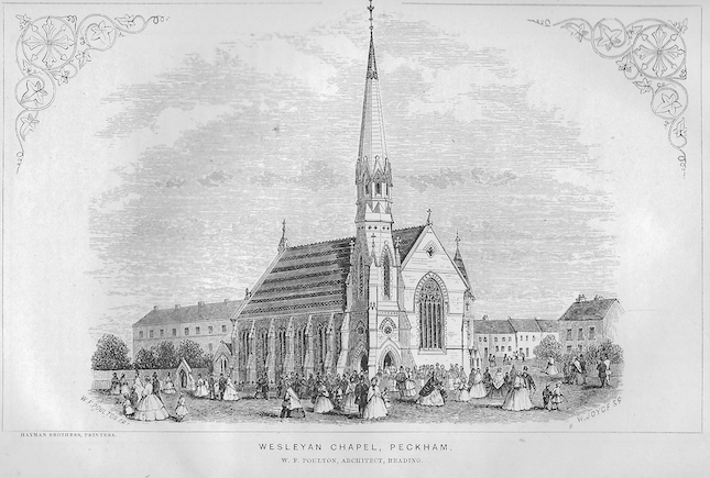 Peckham, Queens Road | Wesleyan Chapel Committee, 1865