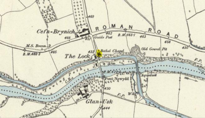 Site of Cefn Brynich Chapel in Powys