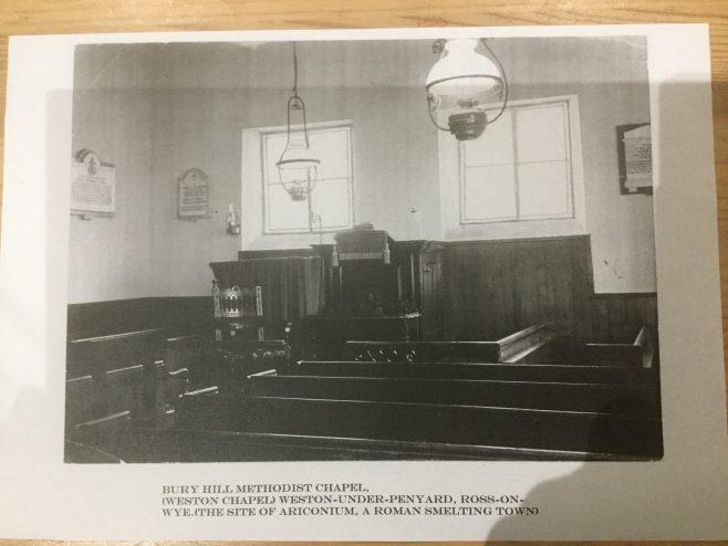 Bury Hill Chapel, Weston under Penyard, Herefordshire