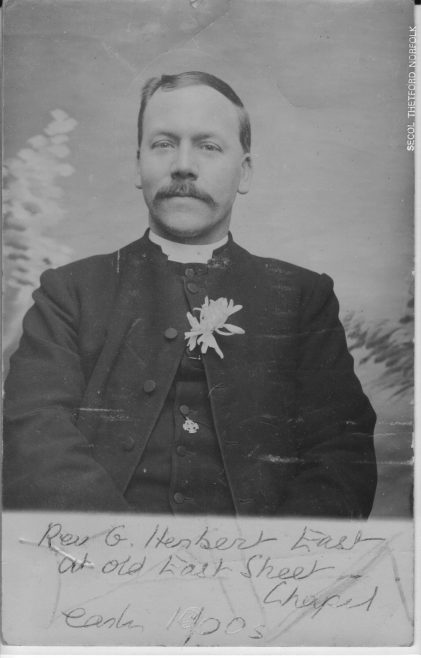 Rev G Herbert East from the Southampton Circuit records   Vicky Green