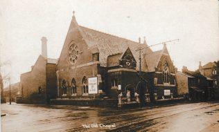 Barking Wesleyan Chapel Exterior 1928 just before demolition