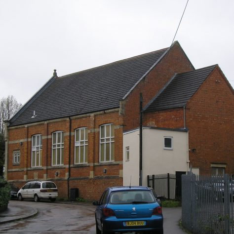 Rothwell, Market Hill Wesleyan Chapel, south and east sides,  28.4.2018