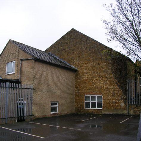 Rothwell, Well Lane Wesleyan Chapel,  back view of chapel,  28.4.2018