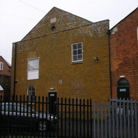 Rothwell, Well Lane Wesleyan Chapel, chapel facade,  28.4.2018