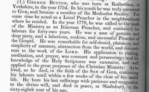 Rev George Button