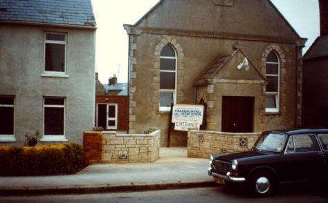 Upper Stratton Wesleyan Methodist chapel