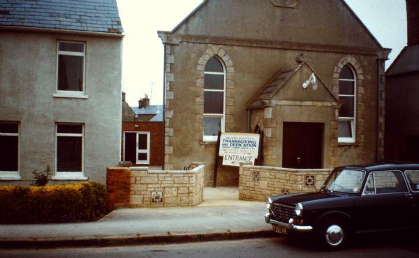 Upper Stratton Wesleyan Methodist chapel | Stratton Methodist church website, with permission