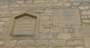 04 Castle Bytham WM Chapel, foundation stones, 21.8.2020