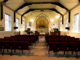 Interior of Bill Quay Station Road chapel following alterations by Heworth Christian Fellowship | Richard Jennings