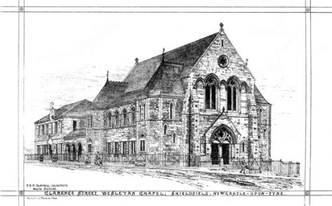 Shieldfield Wesleyan Methodist, Newcastle on Tyne