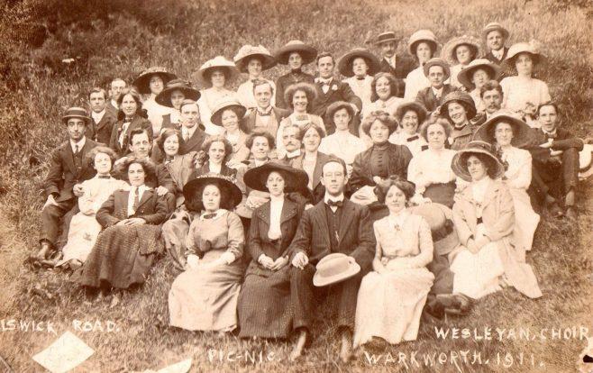 Elswick Road Wesleyan Choir, Newcastle upon Tyne 1911