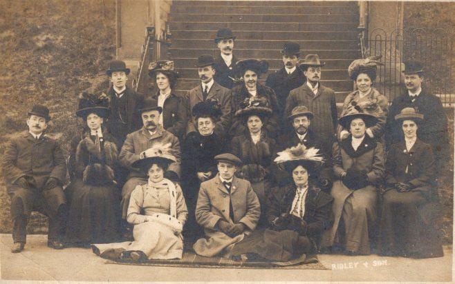 Elswick Road Wesleyan Choir, Newcastle upon Tyne c1900