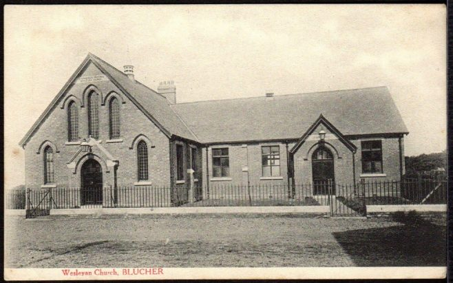 An early postcard image of the chapel | Image from the collections of the Newcastle upon Tyne District Archives