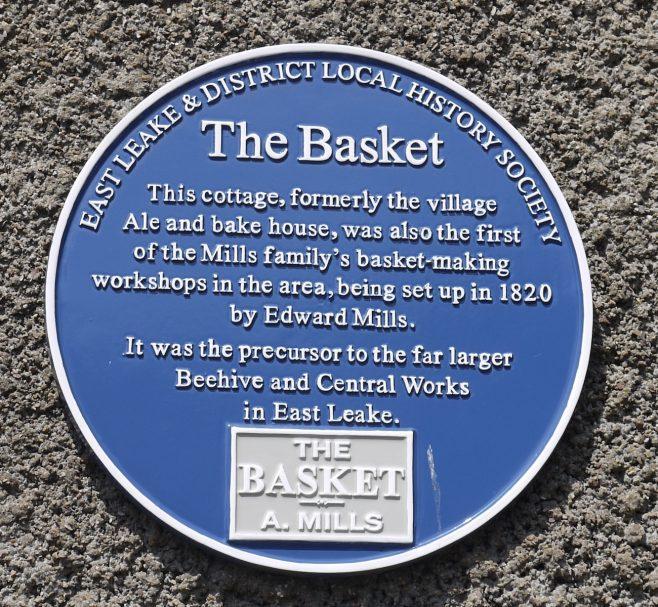 The plaque in West Leake | Philip Thornborow, 2020