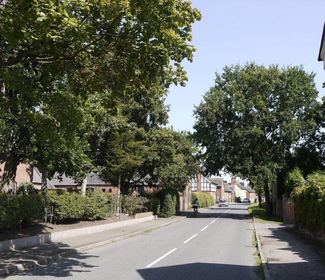The village of West Leake, looking towards the site of the Wesleyan Methodist meeting place | Philip Thornborow, 2020