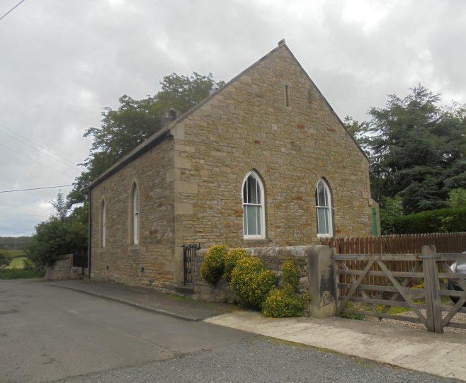 Barrasford W. M Church, Northumberland