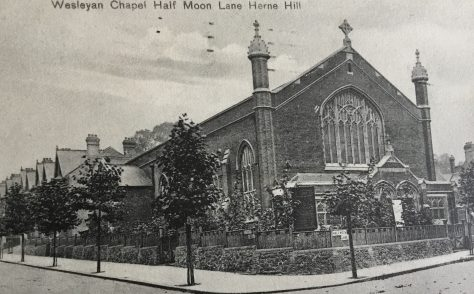 Herne Hill Wesleyan Methodist Church, Half Moon Lane