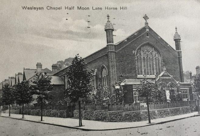 HERNE HILL Wesleyan Methodist Church Half Moon Lane