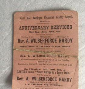 Rev. Albert Wilberforce Hardy - my Grandfather