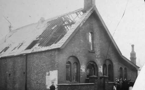 Albert Road Wesleyan Chapel, Widnes, Lancs,1874-1901