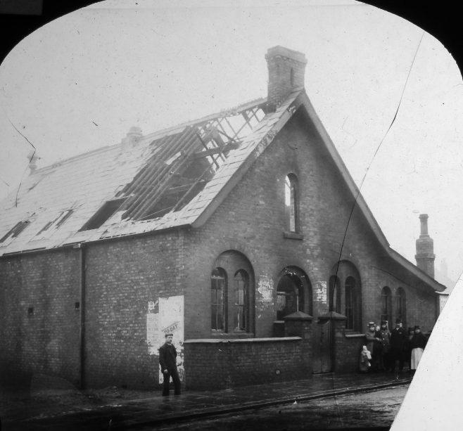 Albert Road Wesleyan Chapel Widnes: Damaged