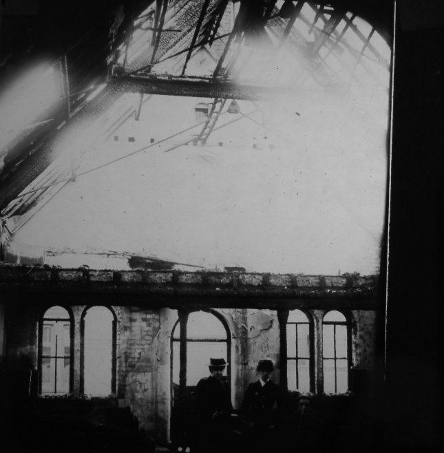 Albert Road Wesleyan Chapel Widnes: Internal Damage