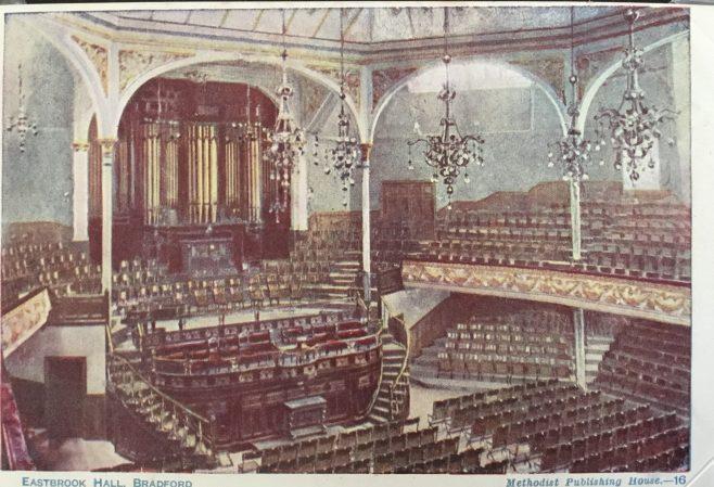 Eastbrook Wesleyan Central Hall Bradford Yorkshire