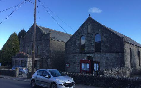 Bugle Methodist Chapel and Sunday School Cornwall