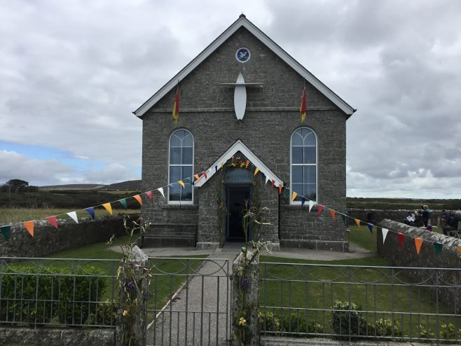 ESCALLS Methodist Church near Lands End Cornwall built 1900