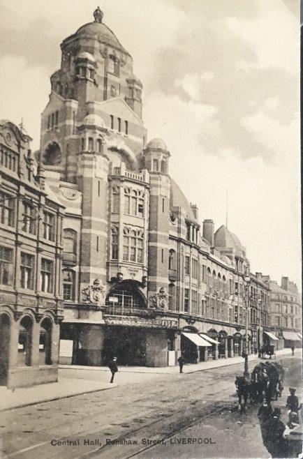Liverpool Wesleyan Central Hall Renshaw Street