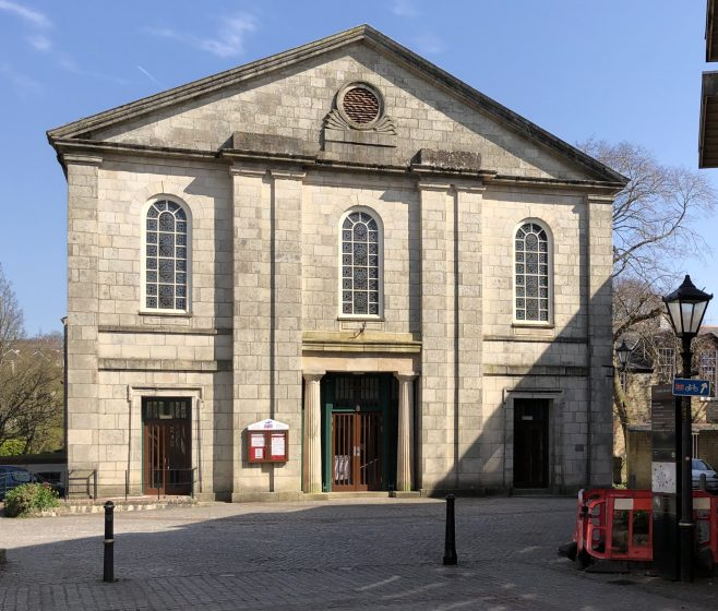 Truro Methodist Church formerly St Mary's Wesleyan