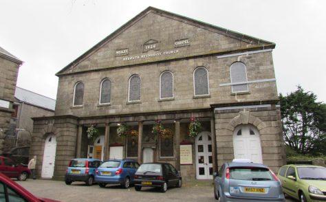Redruth Wesleyan Methodist Church,Cornwall