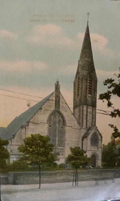 BARROW IN FURNESS (Abbey Road) Wesleyan Methodist Church