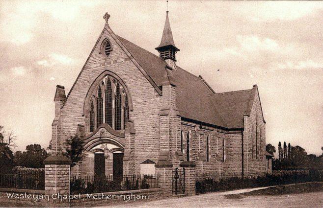 Metheringham Wesleyan Methodist Chapel | Michael Credland
