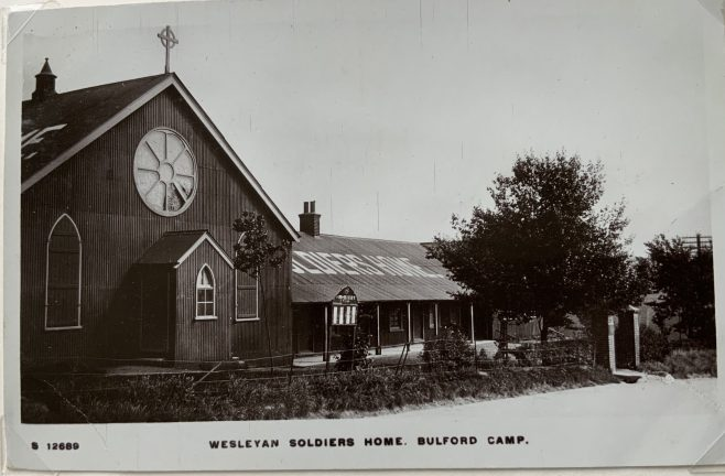A Wesleyan Chapel and soldiers home at Bulford Camp Wiltshire