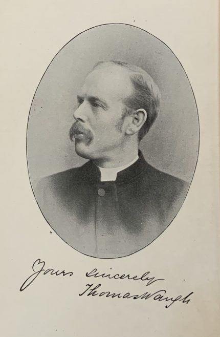 Wesleyan evangelists Rev Thomas Waugh ordained 1882 died 1932 former Connexional Missioner