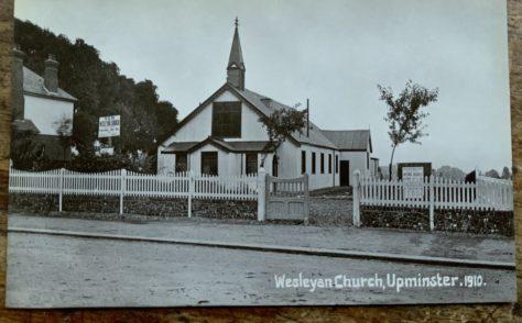Upminster Wesleyan Tin Chapel 1910