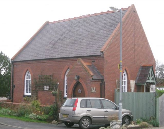 Babbinswood Wesleyan Methodist chapel 2 | Richard and Elaine Pearce December 2014