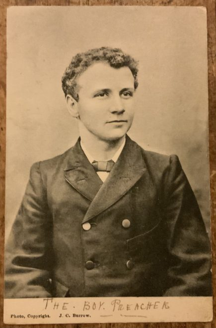 Master Nicholas Wesleyan boy preacher