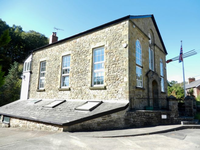 Side view of Cinderford Bridge Wesleyan chapel | Carolyn Mann, 2020