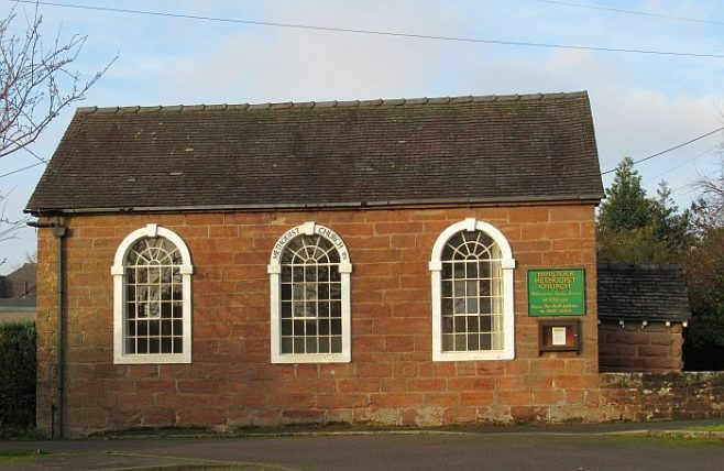 Hinstock Wesleyan Methodist chapel | Janice Cox
