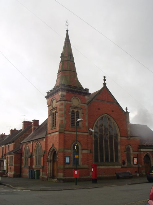 Shrewsbury Greenfields Wesleyan Methodist chapel | Janice Cox November 2020