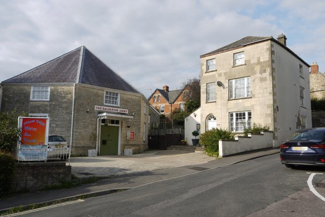 Stroud, Acre Street Wesleyan chapel and surrounding buildings | Philip Thornborow, 2020