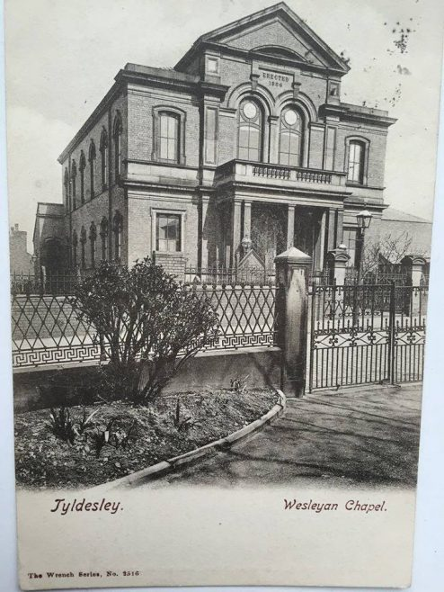 Tyldesley, Wesleyan Methodist Chapel, Lower Elliott St.