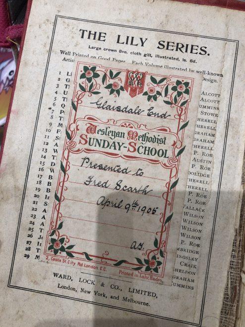 Robinson Crusoe book found