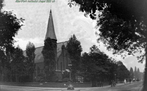 Albert Park Wesleyan Chapel, Didsbury
