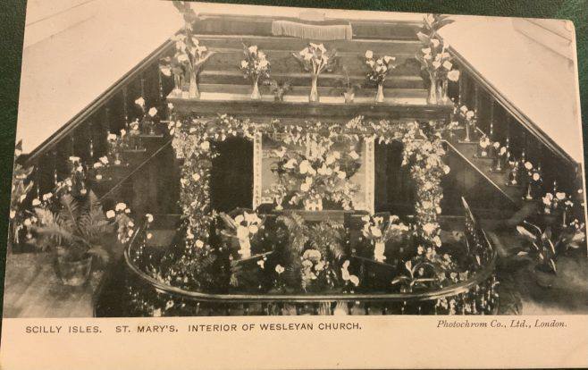 St Mary's Wesleyan Chapel, Isles of Scilly, Harvest