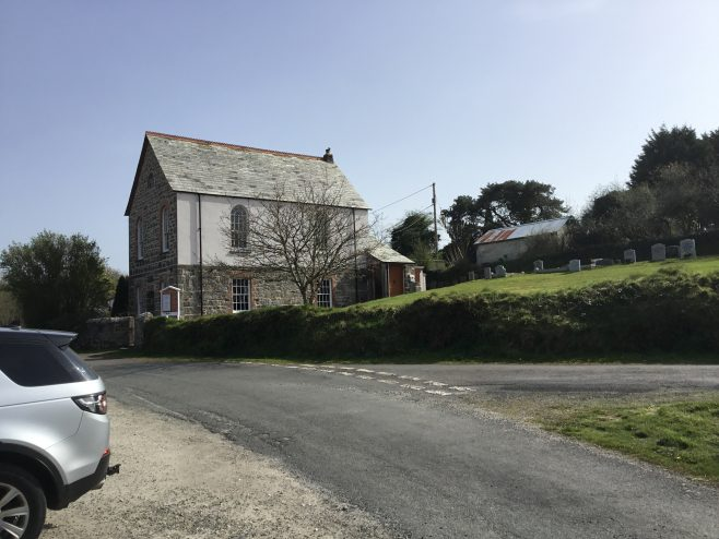 Gunwen formerWesleyan Methodist Church Cornwall