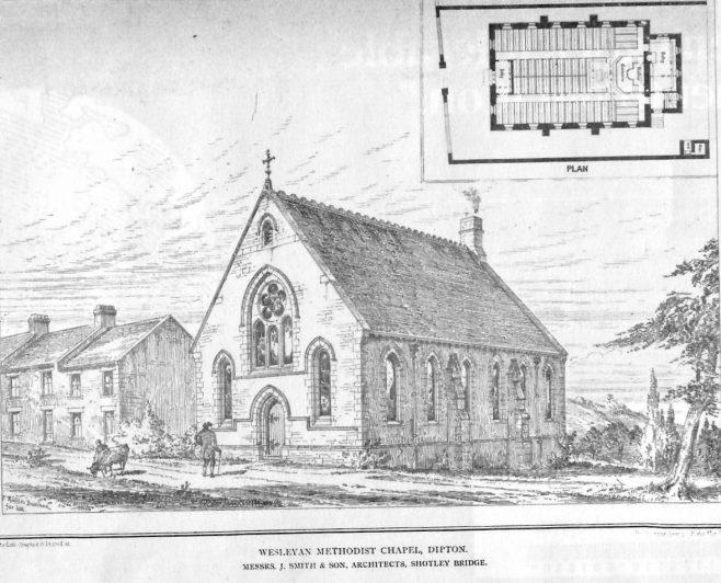 Dipton Wesleyan Methodist chapel | The British architect and Northern Engineer, 1876